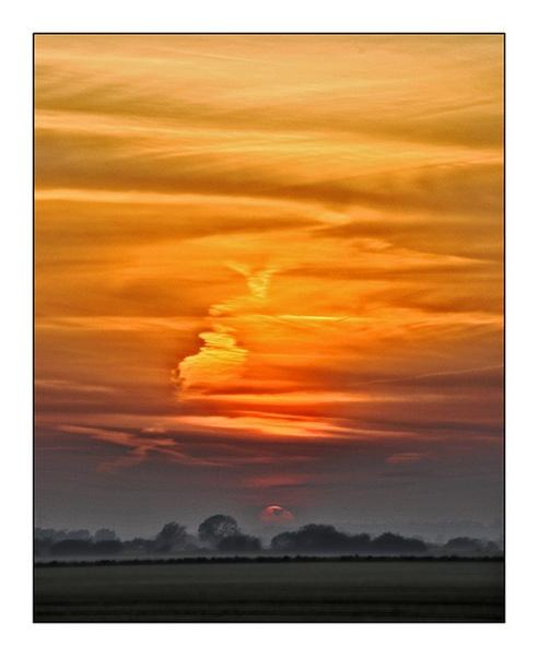 setting sun by mah01