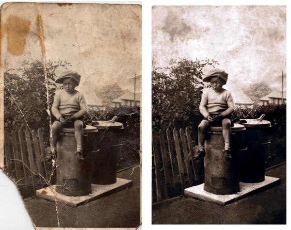 Photo restoration by msmphoto