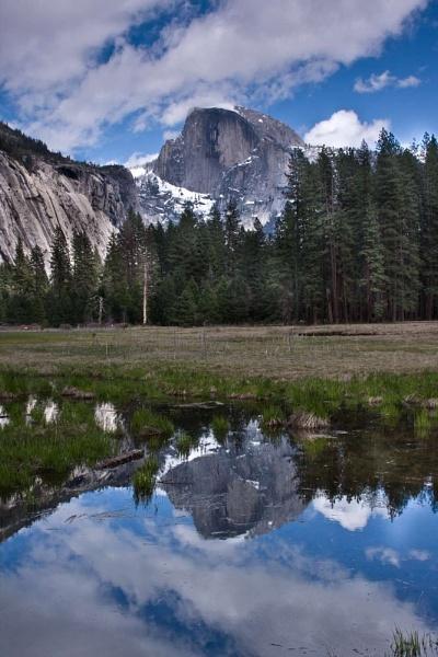 Mirrored Half Dome, Yosemite by ChristinaWhite