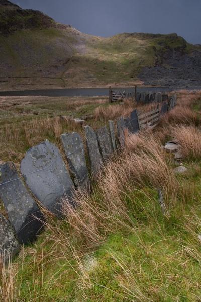 Sate Fence, Snowdonia by ChristinaWhite