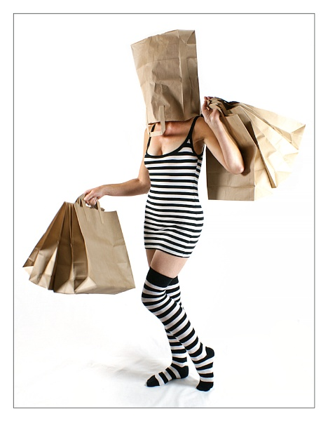Stripes and Bags by cattyal
