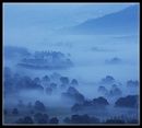 Chatsworth in the Mist