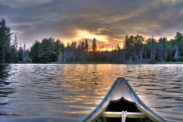 Paddle Into The Sunset by chieflong