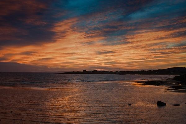 Elie beach sunset by NeilJD