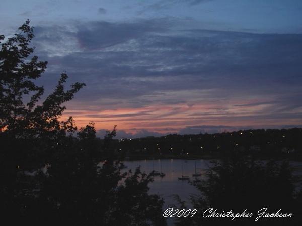 Sunset on the Northwest Arm by ChrisPhotos145