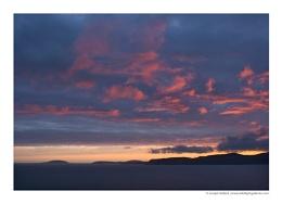 Sunset from Cilan Head