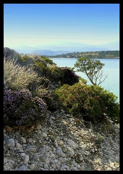 Aegean Seascape by Stevekriti