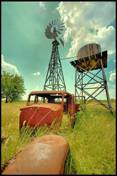 Lone Oak Texas by johnnyscirocco