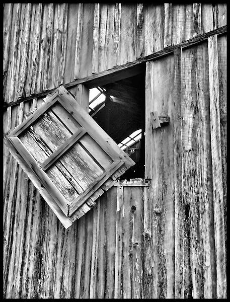Barn window by johnnyscirocco