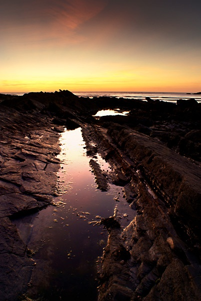 Crackington Sunset by freyjas_dad