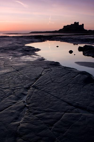 Bamburgh Dawn by michaelcombe