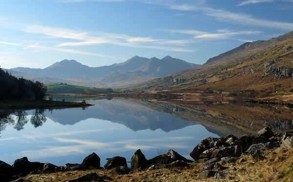 Snowdonia reflections by Genuinedabber