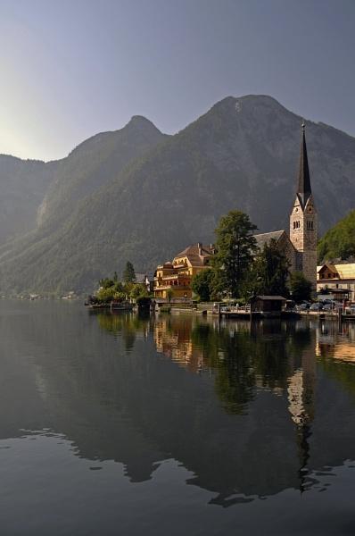 Hallstatt Austria by Merbert