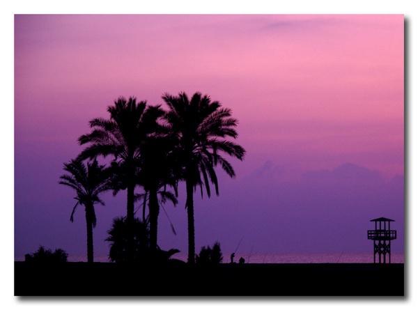 Fishermen at sunrise, Garrucha, Almeria by roverfoxy9