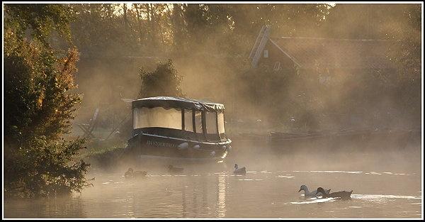 Flatford at dawn. by boot