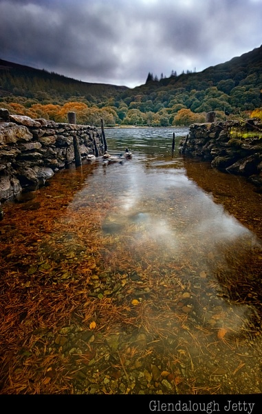 Glendalough Jetty by paulcr