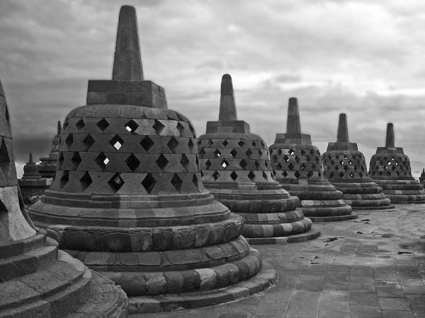 Borobudur Temple by jkennedy