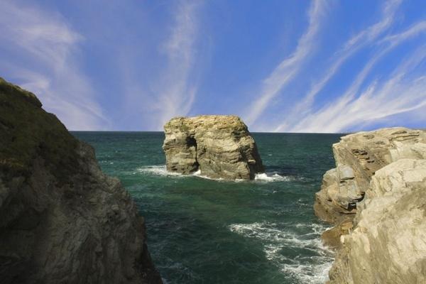 Newquay Rocks by Stonemushroom