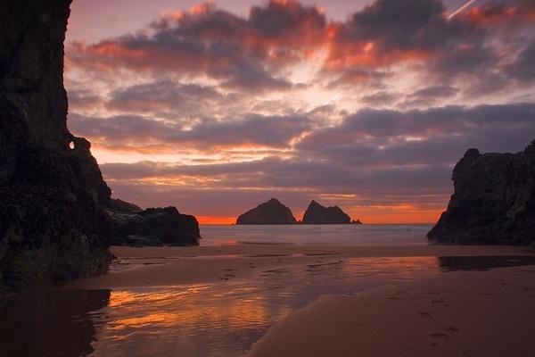 Holywell Sunset by Stonemushroom