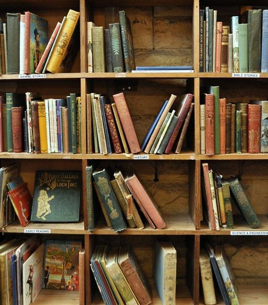 Book Shelf by MissPea