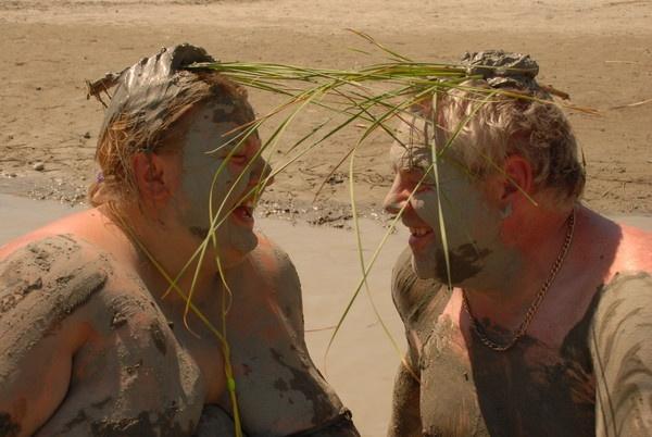 what do we look like sumo wrestlers in mud lol by sumosue2007