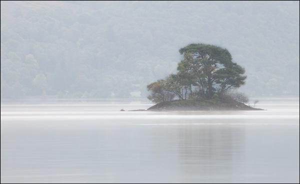 Misty Island by stormchayser