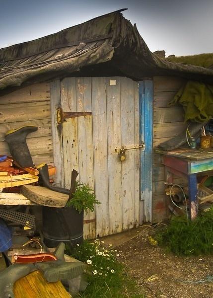 fisherman,s hut by martmag3