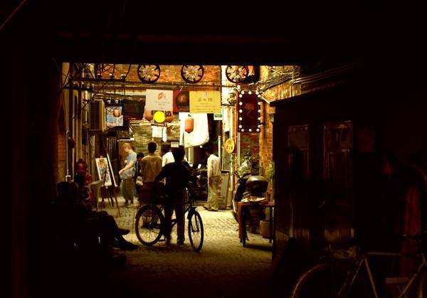 Shadows-Taikang Lu by lagil57