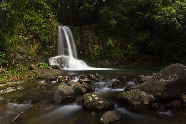 waterfall by nostramo