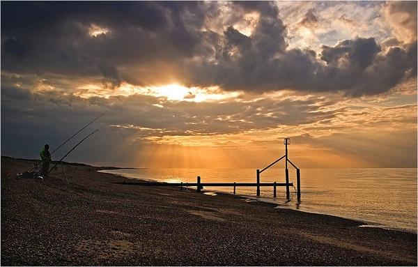 Weybourne Beach by conrad