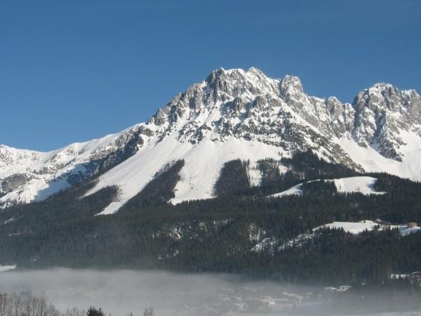 Wilder Kaiser Mountains by Sarahhanson