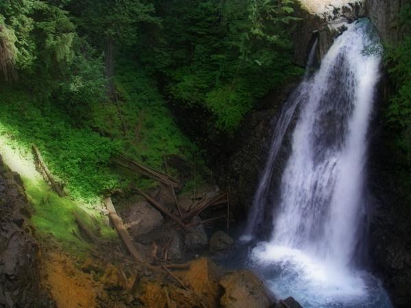 Lady Falls by shutterkat