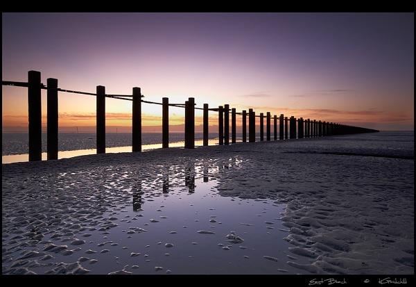 East Beach by KevinGoodchild