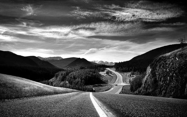 Bragg Creek Road by david deveson