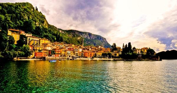 View of Varenna, Lake Como by GeePanesar