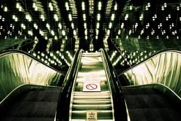 Escalator in Toronto Convention Centre