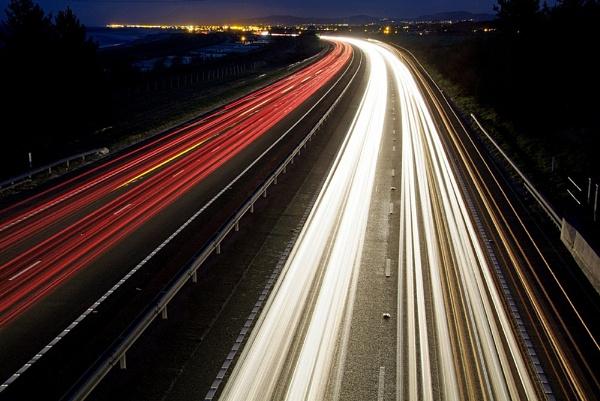 A55 Night Trails by Banditman
