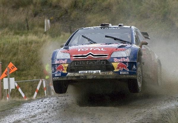 Sebastian Loeb WRC Winner by ipicimages