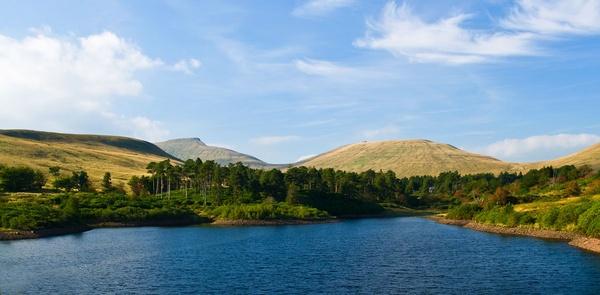 Upper Neuadd Reservoir by colym