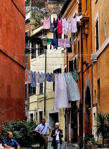 Street scene in Italy by xwang