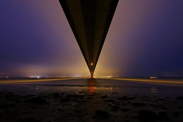 Under the Humber Bridge by Carljorgensen