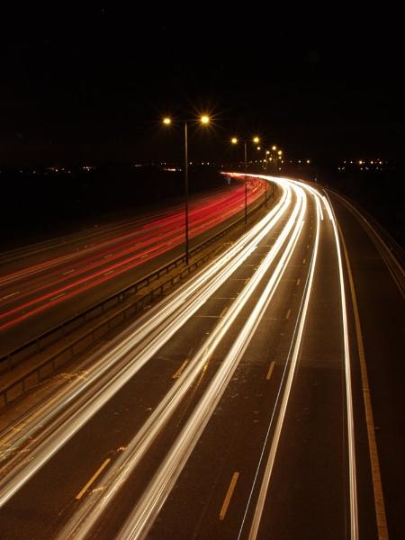Light Trails by pokey110