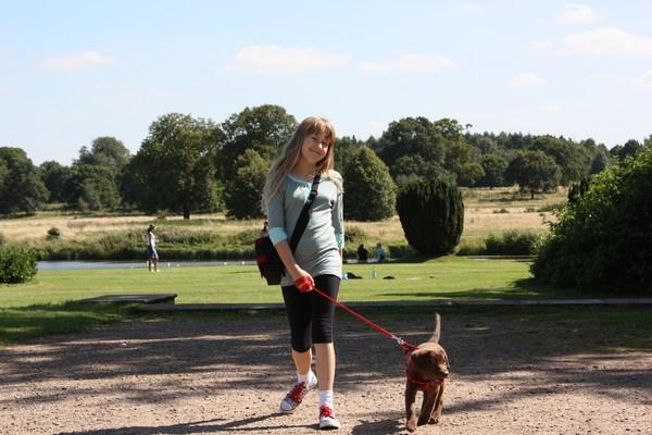 Me & my dog Millie by steph_w