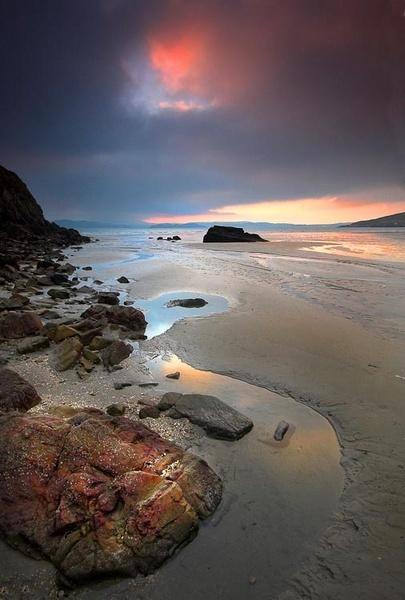 Winter Sunset by irishman