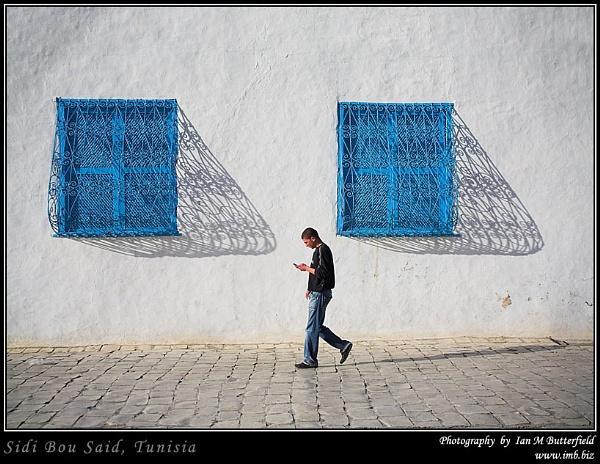 Sidi Bou Said, Tunisia by ianbutty