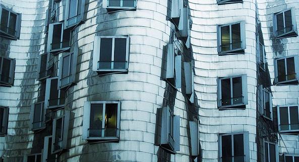 Gehry buildings Dusseldorf by SueEley
