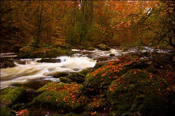 River Llugyw by Brenty