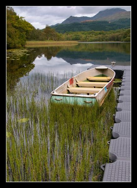 Dubh Lochan Boat by Boagman65