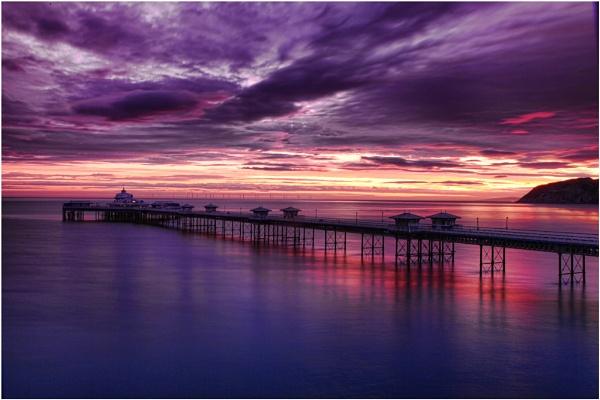 Sunrise, Llandudno Pier by Trout_Man