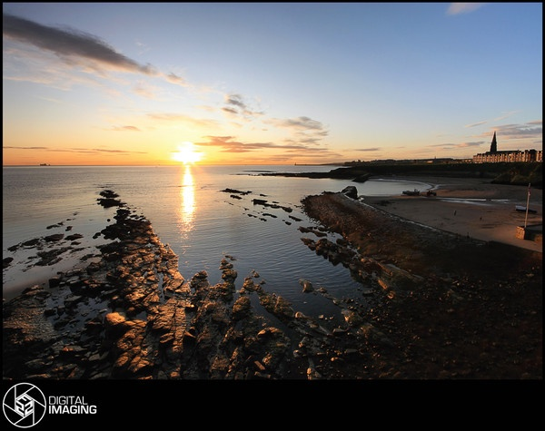 Cullercoats Sunrise by f22Digitalimaging